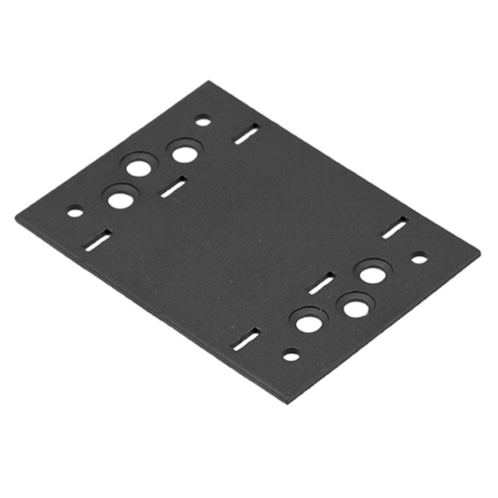 Összekötő lemez fekete 116 x 85 díszítőelemmel kiegészíthető