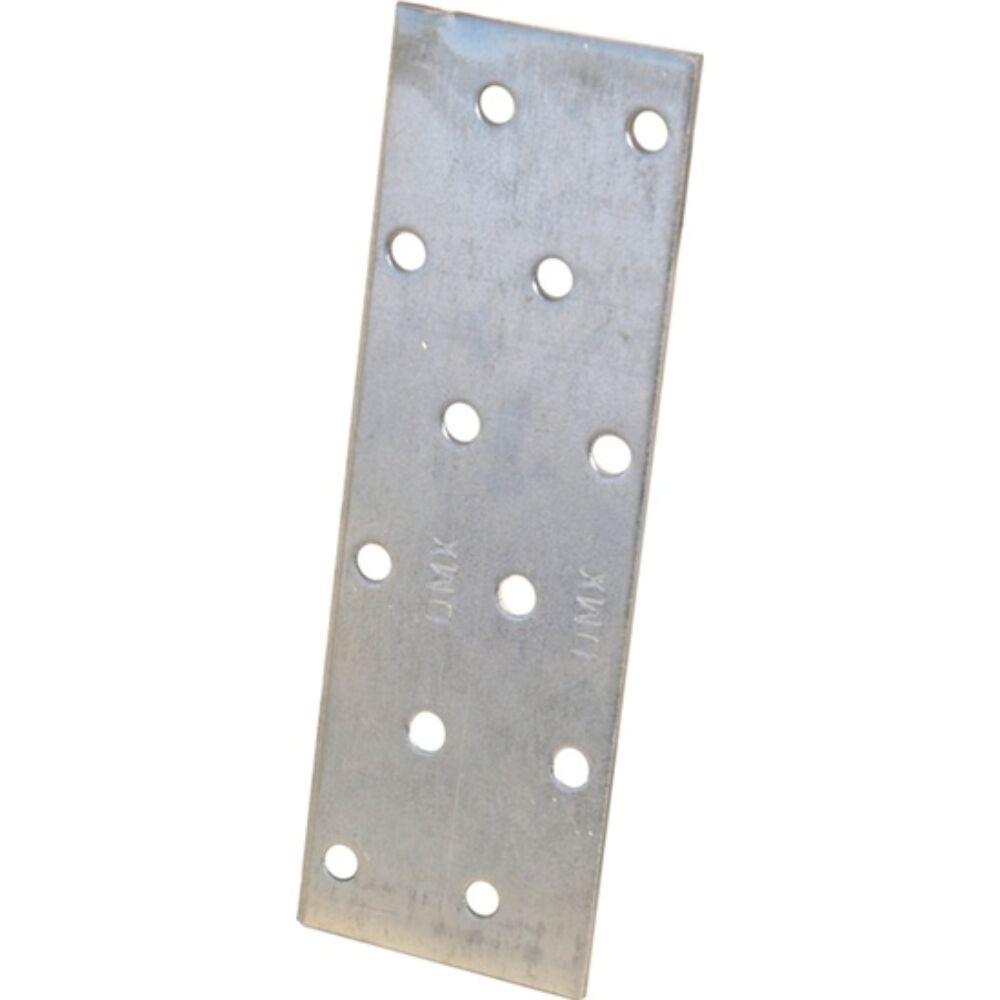 Összekötő lemez perforált horganyzott 60 x 140 x 2 mm