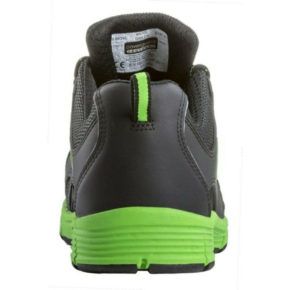 Coverguard MOVE Green S3 SRA munkavédelmi cipő 38 - Coverguard ... 07f2c38e73