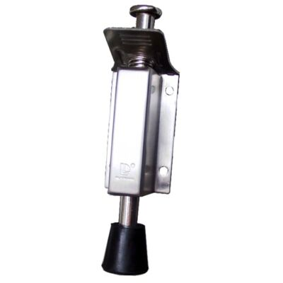 Ajtókitámasztó rugós 140 mm inox