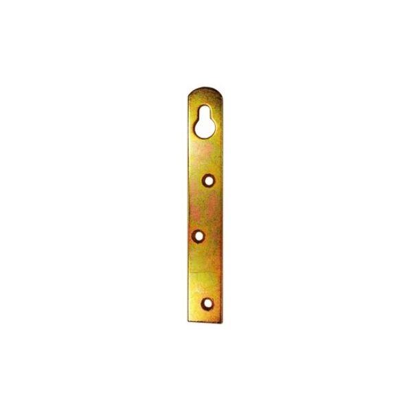 Bútorakasztó fül 20 x 90 mm egyenes