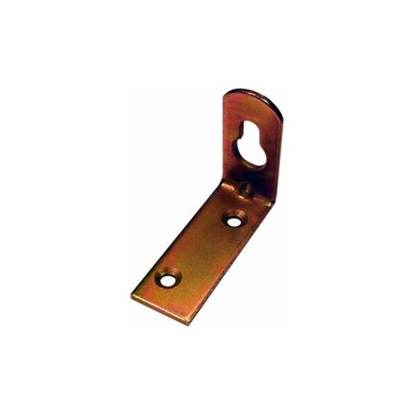 Bútorakasztó fül 20 x 90 mm hajlított