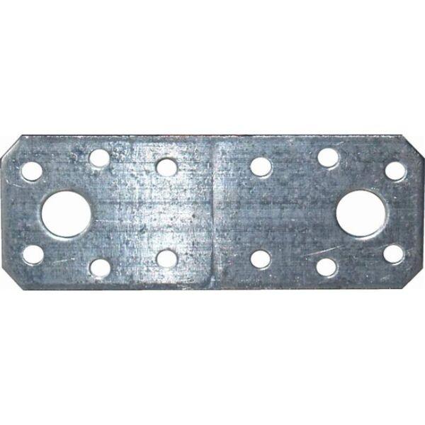 Összekötő lemez horganyzott 135 x 55 x 2,5 mm E