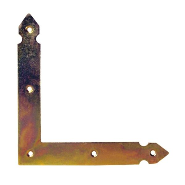Zsalu L sarokvas 150 x 150 mm díszes