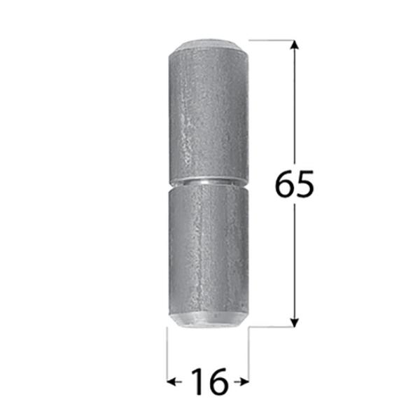 Hegeszthető pánt 16 x 65 mm