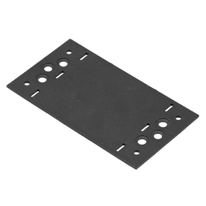 Összekötő lemez fekete 156 x 85 díszítőelemmel kiegészíthető